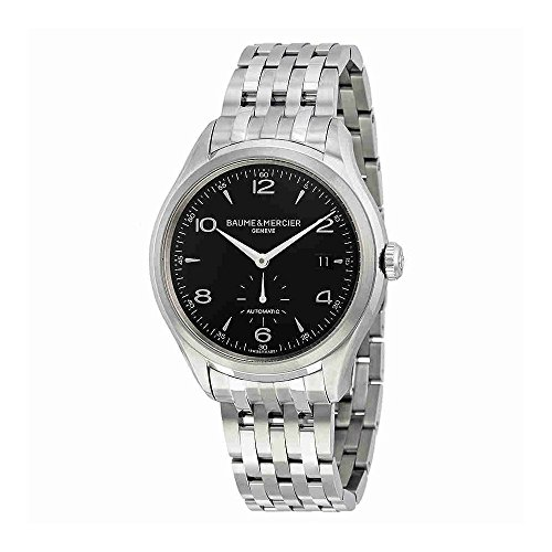 Baume-Mercier-Mens-BMMOA10100-Clifton-Analog-Display-Swiss-Automatic-Silver-Watch