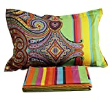 FADFAY Luxury Bohemian Style Bed Sheet Set 4-Piece-Queen