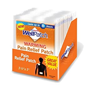 upc 310742098426 product image for WellPatch Warming Pain Relief Pads, 0.05-Ounce Pouch (Pack of 15) | barcodespider.com