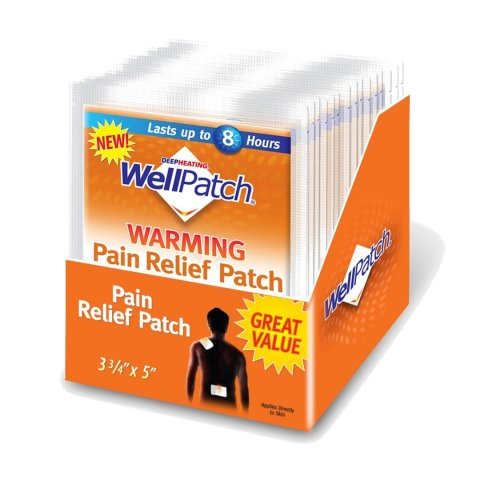 - WellPatch Warming Pain Relief Pads, 0.05-Ounce Pouch (Pack of 15)