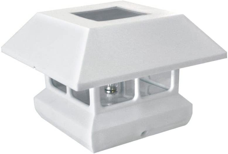 White 10-Pk. Electric Fence T-Post Safety Cap