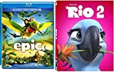 Rio 2 & Epic Cartoons from the creators of Ice Age Blu Ray Animated Set
