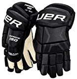 Bauer Junior Supreme 150 Glove, Black, 12