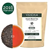 Assam Tea Leaves from India (225 Cups), 2016 SECOND FLUSH PRIME SEASON HARVEST, World's BEST BLACK TEA, Rich & Malty, Shipped Direct from Source, Direct & Ethical Trade, 16-ounce Loose Leaf Tea Bag