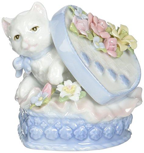 Heart Cat Figurine - 8