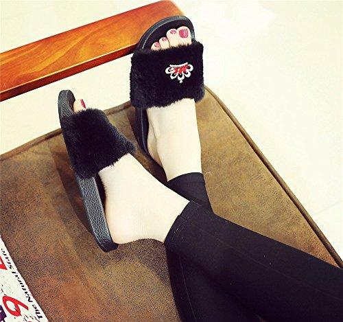 Chausson Diamant Pantoufles Femme Chaussures Brillant Shoes Sexy Mode Couronne nbsp;Hiver nbsp;et Adorab Automne Sandales q5gvwwF