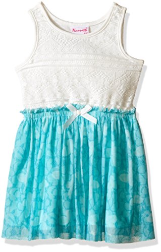 s Lace Bodice With Butterfly Chiffon Skirt, Sage, 4 (Bodice Chiffon Skirt)