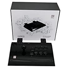 Qanba Universal Controller - Fight Stick - Carbon - PS3/Xbox 360/PC