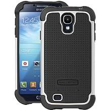 Ballistic AP1156-A025 Sg1158-A085 SG Case for Samsung Galaxy S4-1 Pack-Retail Packaging-Black/White