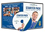 Grow Young Fitness Chair Exercises for Seniors - Starter Pack DVD Foundation - Cardio - Core - Balance - Yoga - Easy Safe Effective Workout DVD for...