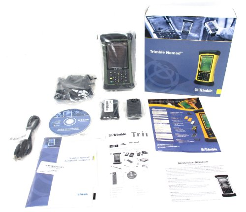 Trimble Nomad 800L Green Bluetooth WiFi GPS Waterproof Handheld Data Collector PC