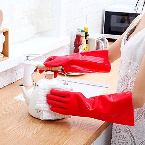 rubber gloves for dishwashing - 4