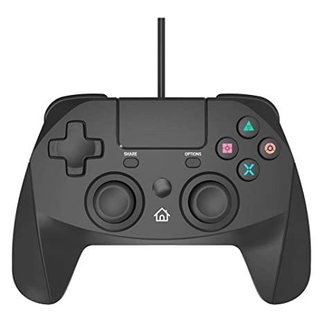 Snakebyte Game:Pad 4 S for PlayStation 4 and PlayStation 3 - Wired ...