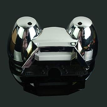 Motorrad Tachometer Tachometer Kilometerzähler Abdeckung Tacho Meter Tacho Messgerät Gehäuse Für Suzuki Gsx 1400 Gsx1400 2001 2003 01 03 01 02 03 Street Bike Motorrad Schwarz Gewerbe Industrie Wissenschaft