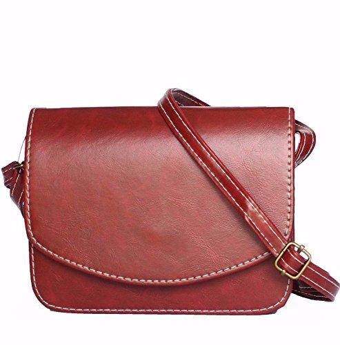 Bordeaux Bea Bag Tracolla A Pelle Donna Da Particolare Borsa In qKyIBfwqA