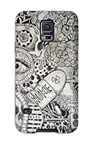 Ivan Erill's Shop Hot Doodle Art First Grade Tpu Phone Case For Galaxy S5 Case Cover