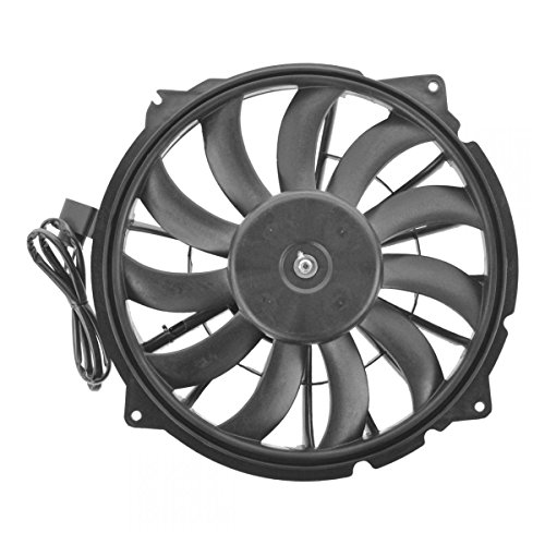 Radiator Cooling Fan Left LH Driver Side Blade Motor Shroud for Audi RS4 S4 4.2L (Motor Cooling Side Fan Radiator)