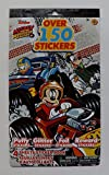 Mickey and the Roadster Racers Stickers - 4 sheets over 150 stickers