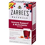 Zarbee's Naturals Immune Support* & Multivitamin Drink Mix with B-Complex, Vitamin D, Honey, Natural Mixed Berry Flavor, 10 Packets