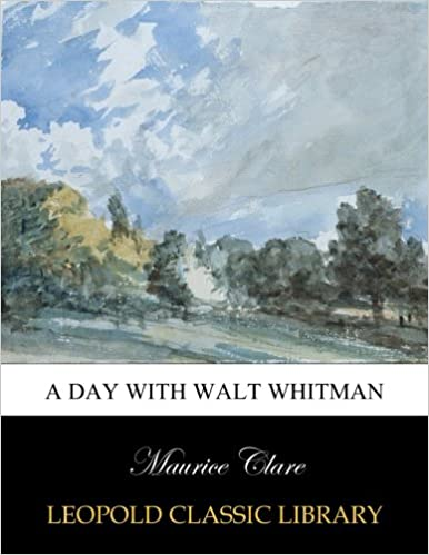 A day with Walt Whitman