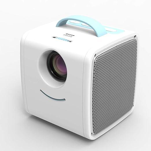 WENXX Proyector Mini Proyector De Video Portátil LCD ...