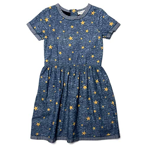 Maisy Dress | Gold Stars