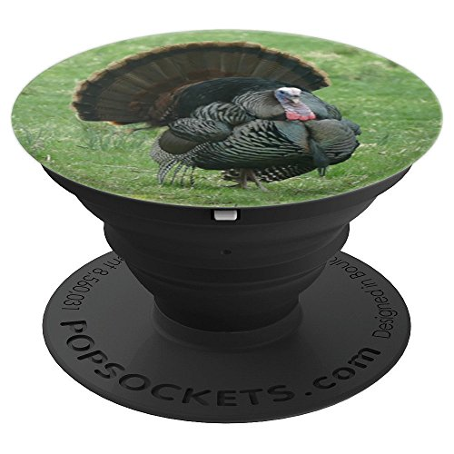 Wild Turkey Strutting Tom Hunting Photo - PopSockets Grip and Stand for Phones and Tablets