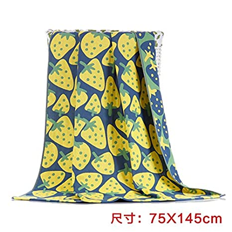 mmynl Pure algodón gasa toalla de baño para adultos parejas absorción de agua toalla de baño de algodón 140 x 70 cm: Amazon.es: Hogar
