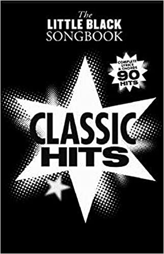 Little Black Songbook Classic Hits Collectif 9781849389983 Amazon Books