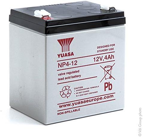 Yuasa Batterie s Batterie plomb AGM NP4-12 12V 4Ah YUASA