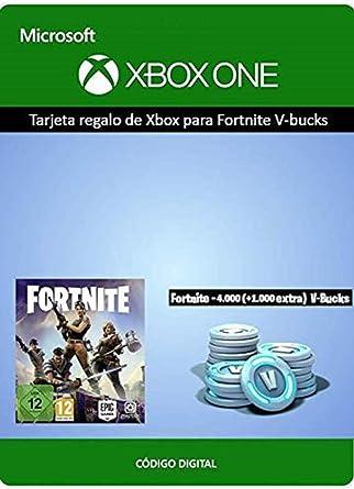 Tarjeta regalo de Xbox para Fortnite - 4000 paVos (+1000 ...