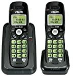 Vtech Dect 6.0 2-Handset Cordless Phone System with Caller ID, Backlit Keypad
