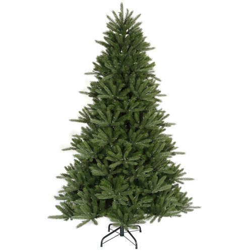 Vickerman Unlit Full Vermont Fir Instant Shape Artificial Christmas Tree, 9.5'
