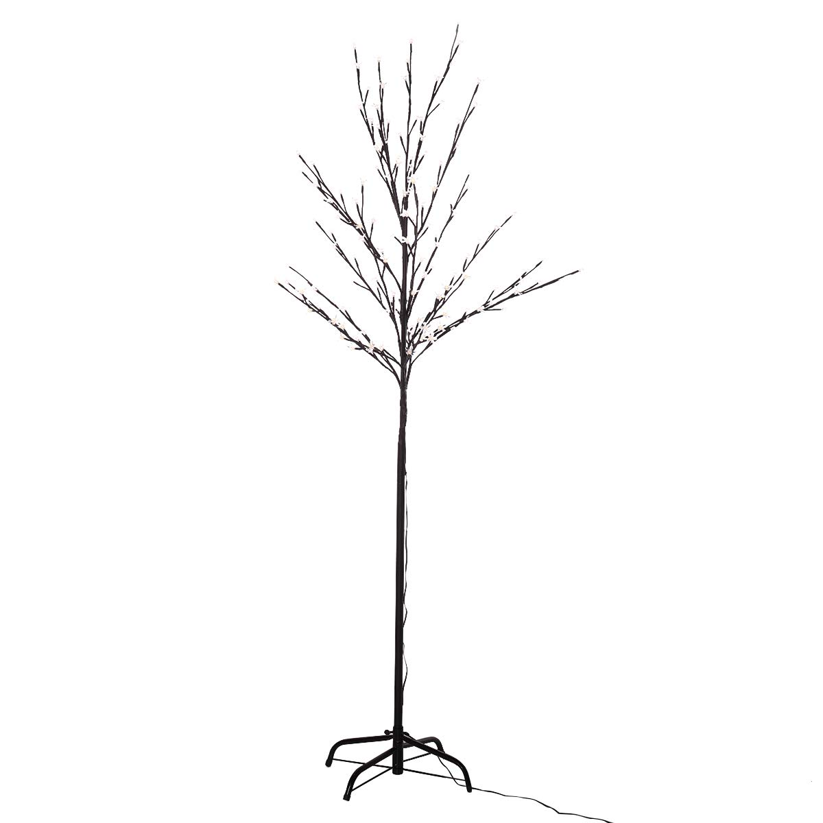 JAXPETY Christmas 6Feet 160LED Cherry Blossom Twig Tree Light Branches for Outdoor and Indoor Use