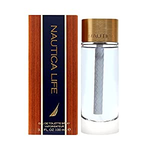 Nautica Life Eau de Toilette for Men Spray, 3.4 Ounce