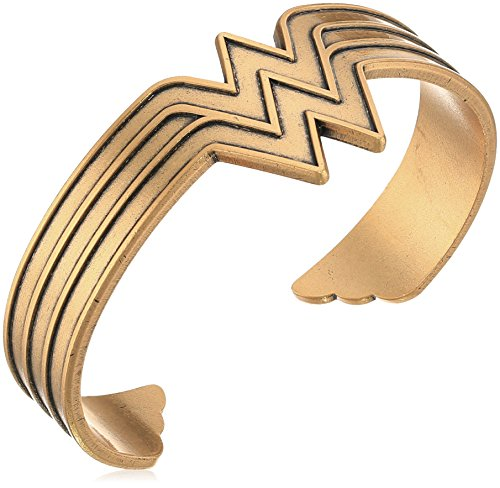 Alex and Ani Wonder Woman Rafaelian Gold Cuff Bracelet (Wonder Woman Cuff Bracelet)