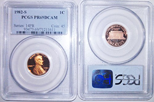 (1982 Lincoln Memorial Cent PR-69 PCGS DCAM)