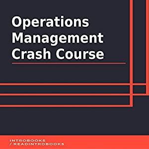 Operations Management Crash Course Audiobook