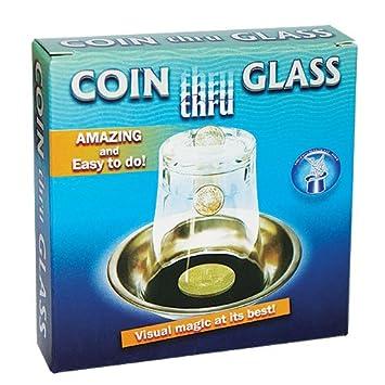 Zaubertricks Und Zauberartikel Coin Thru Glass Münze Durchdringt