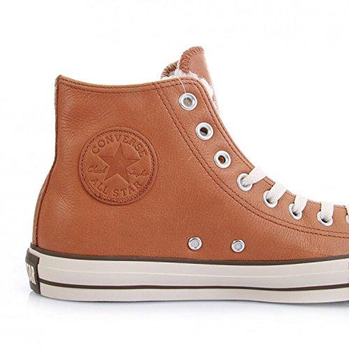 Star Taylor Adulto Converse marrone Hi Leather all Mono Chuck Marrone Sneaker Unisex H5Wxqt