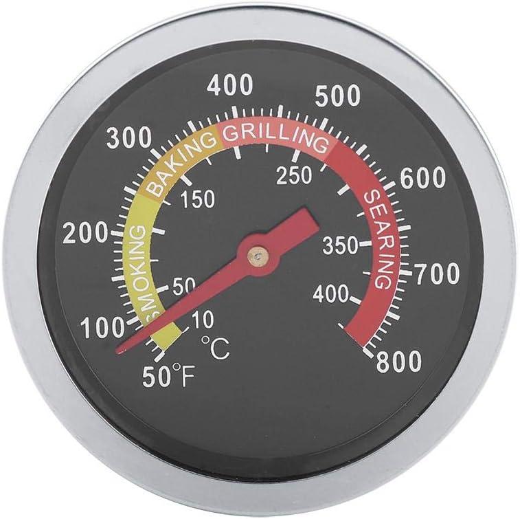 Termómetro de barbacoa de acero inoxidable de lectura instantánea digital de 50~800 Temperature de la campana redonda para cocinar en barbacoa