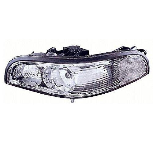 Partomotive 97-05 Park Ave Headlight Headlamp Halogen Head Light Lamp Right Passenger Side ()