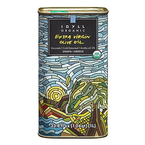 Idyll Organic Extra Virgin Olive Oil from Greece, 500mL