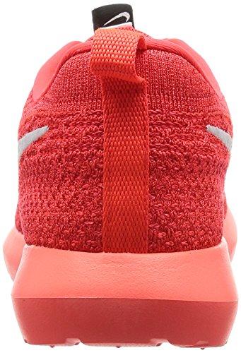 Crimson Red White da Men's Shoe University Ginnastica Rosso NM Roshe NIKE Bright Flyknit Uomo Scarpe xqPZHZ6w