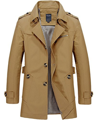 Belted Single Breasted Trench Coat - 7