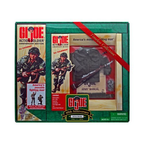 12 INCH G.I.JOE TIMELESS COLLECTION 40TH ANNIVERSARY 1ST IN A SERIES