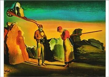 """5 tarjeta de paquete: de Salvador Dalí atavismo el crepúsculo """""""