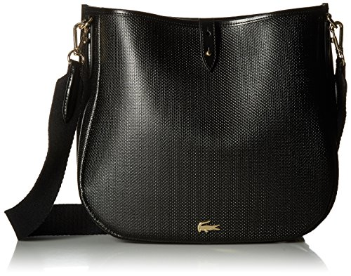 Lacoste Hobo Bag, Nf2118ce, Black by Lacoste
