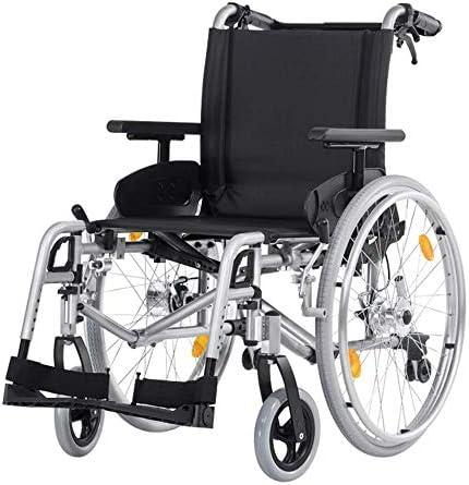 lHishop Rollstuhl Für ältere Menschen Zusammenklappbarer Körperrollstuhl Aus Aluminiumlegierung Leichtgewichtiger Manueller Rollstuhl