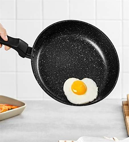 ZHNA 24cm antiadhésive Poêle, Plat Pancake Pan, Cuisinière à Induction Cuisinière au gaz